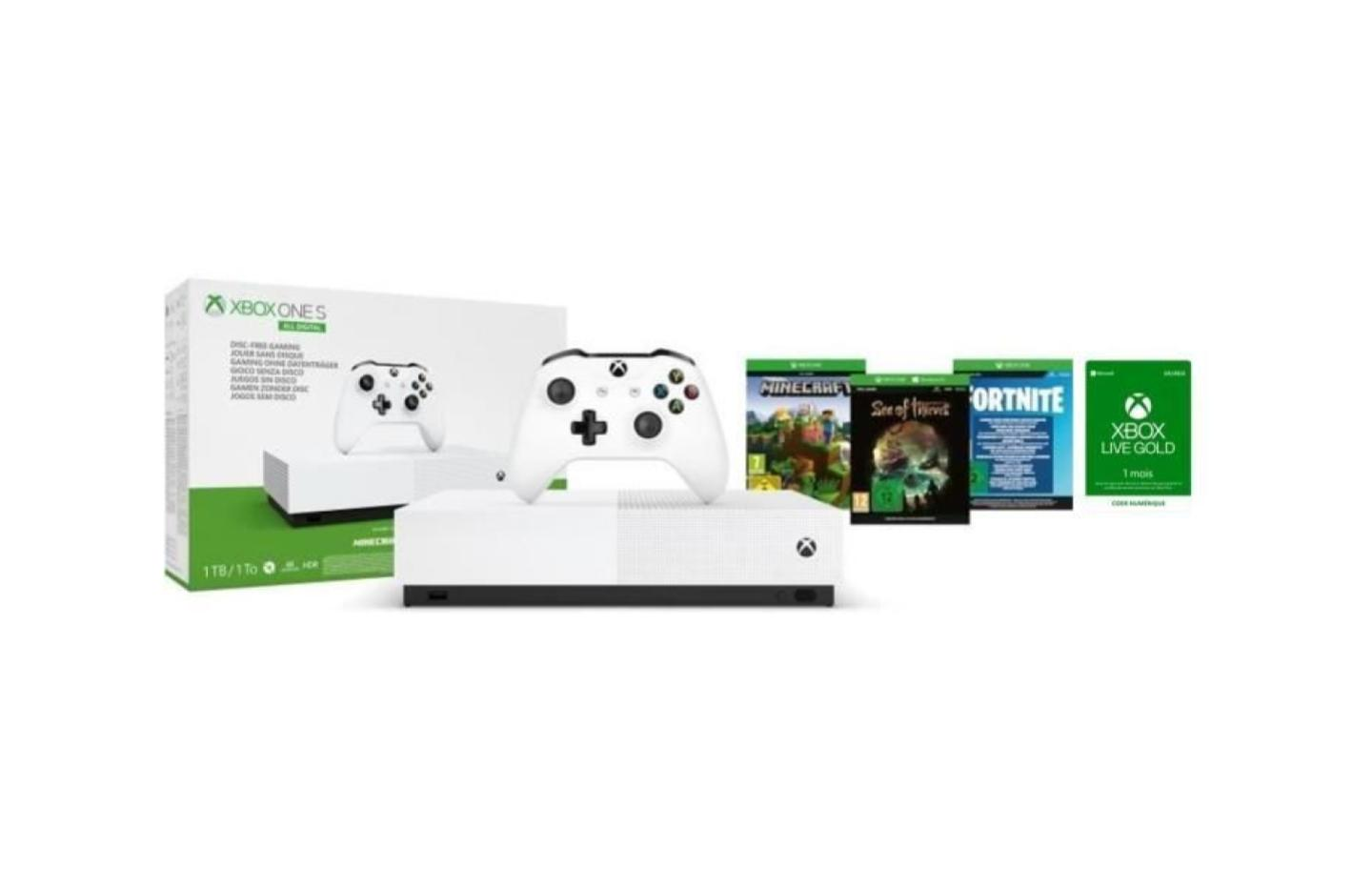Xbox One S All Digital — Promo Xbox