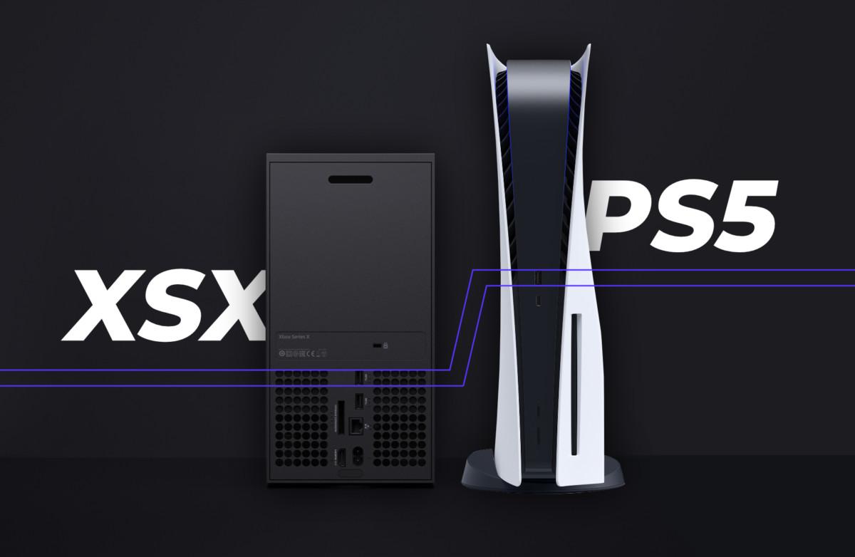 La Xbox Series X face à la PlayStation 5