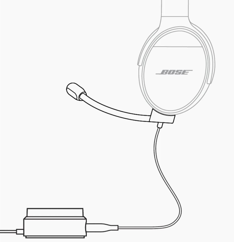 Le BoseQC35 II Gaming Headset, s'apparenterait aux micros détachables fournis avec certains casques gaming