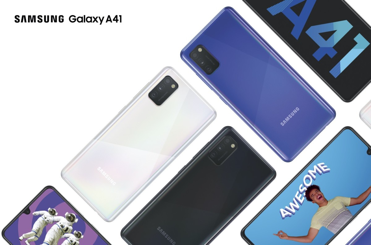 samsung galaxy a41 officiel