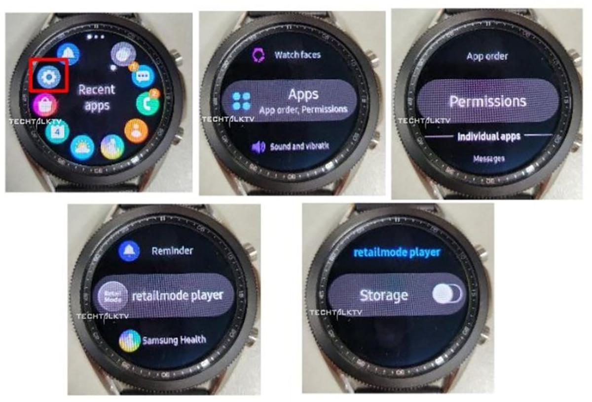 Les photos de la Samsung Galaxy Watch 3