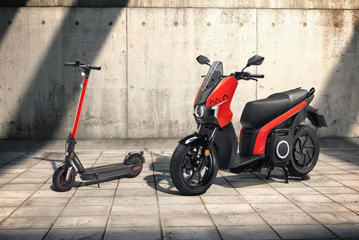 eScooter 125 et eKickScooter 65