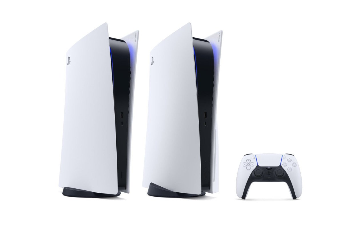 La PlayStation 5 et la PlayStation 5 Digital Edition