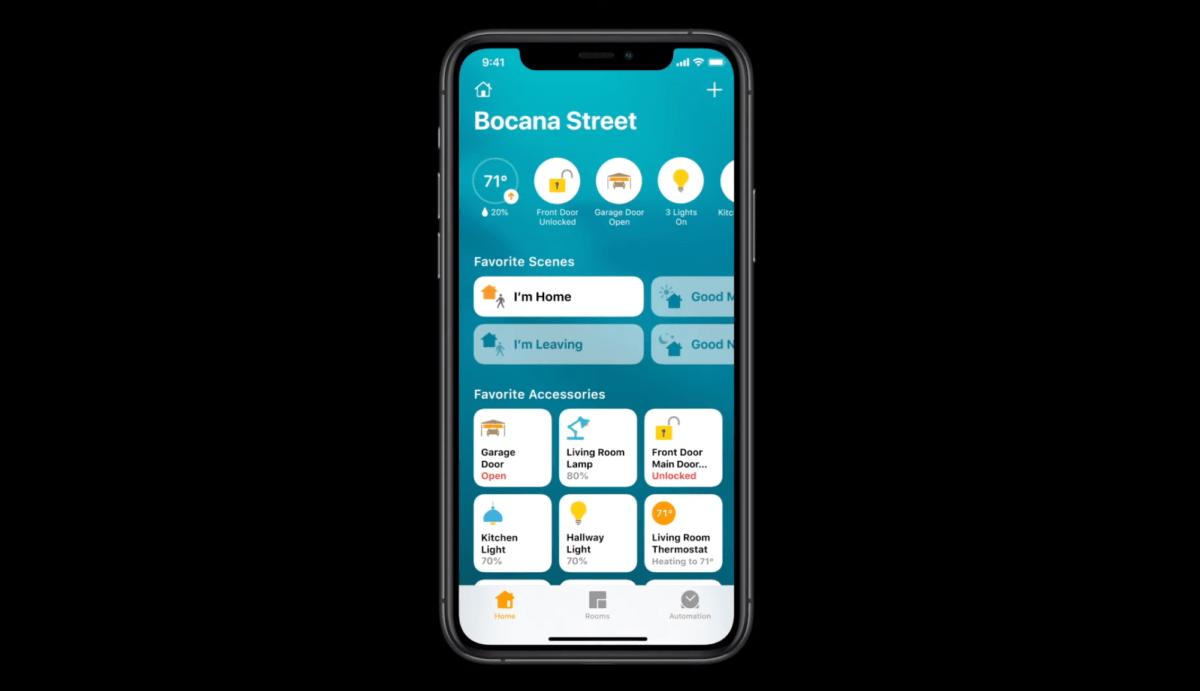 La nouvelle application Apple Home sur iOS 14