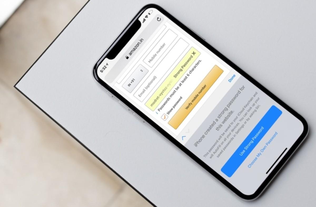 Le trousseau iCloud permet déjà de générer automatiquement des mots de passe forts