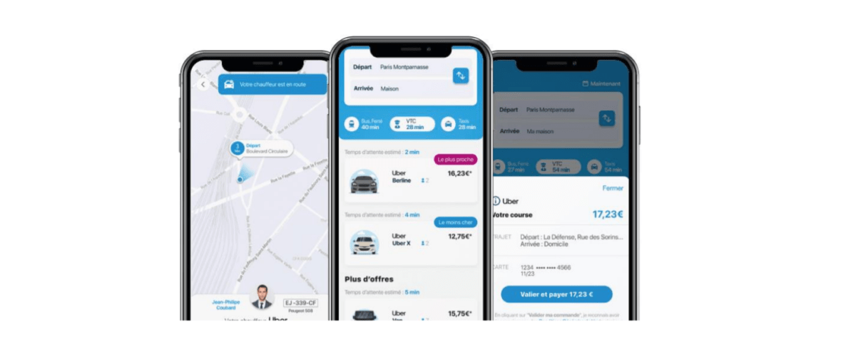 Uber et Assistant SNCF