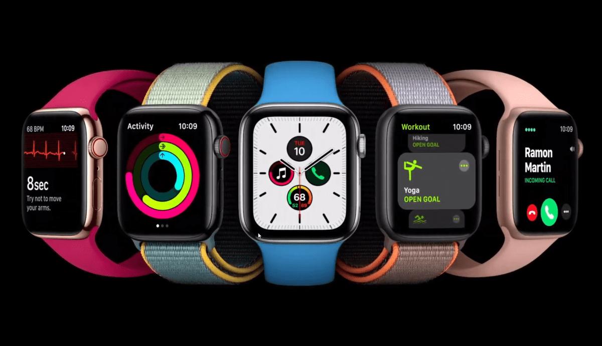 WatchOS7 apportera de nombreuses fonctionnalités sur Apple Watch