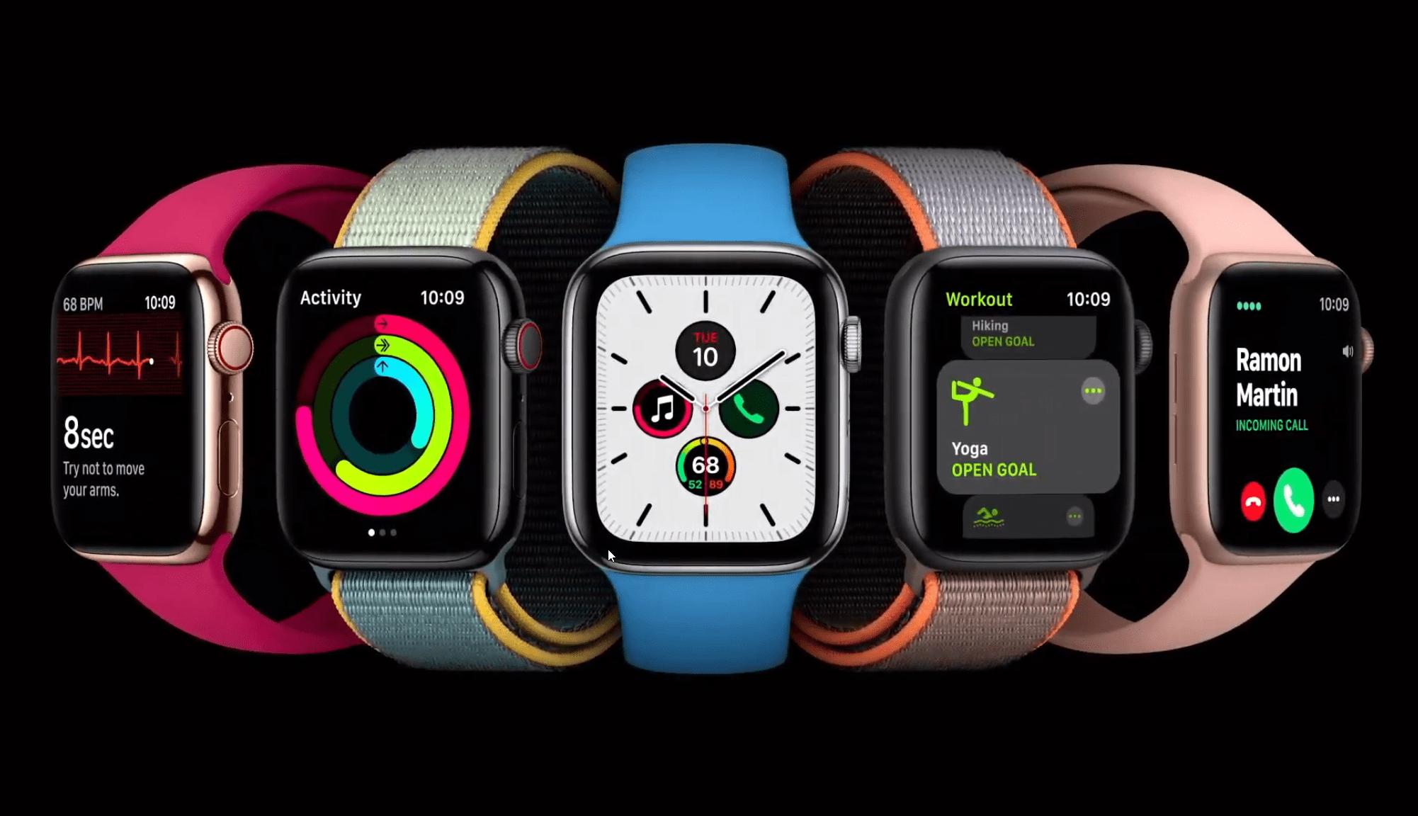 Grâce à watchOS 7, les Apple Watch pourront enfin suivre