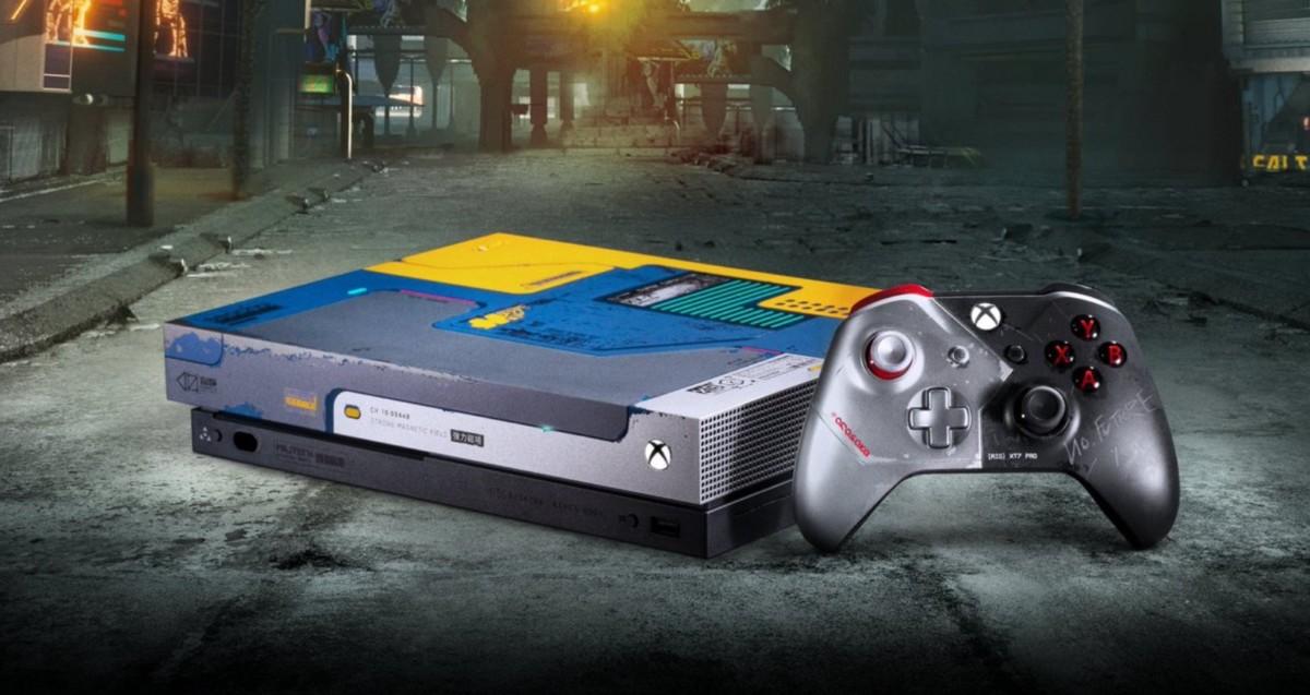 La Xbox One X Cyberpunk 2077 est la première console à se voir associer un jeu… sans code