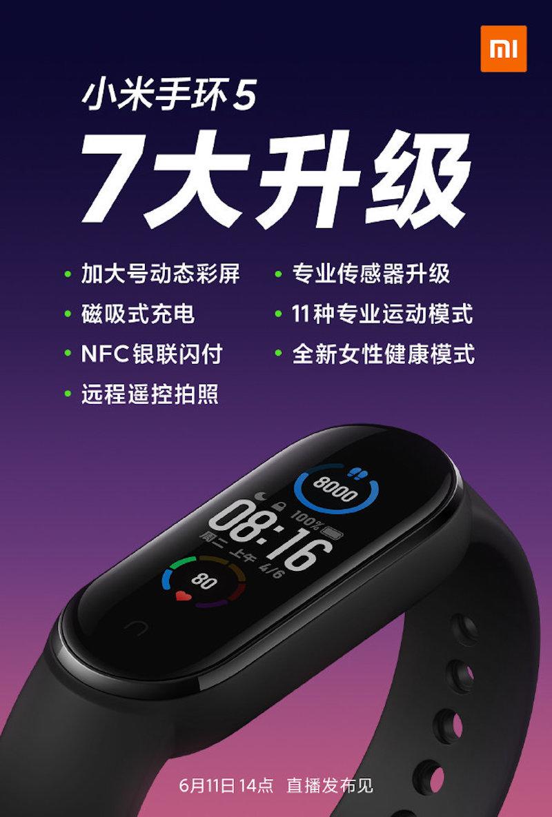 Xiaomi Mi Band 5 : tout ce que nous savons sur le très populaire bracelet connecté
