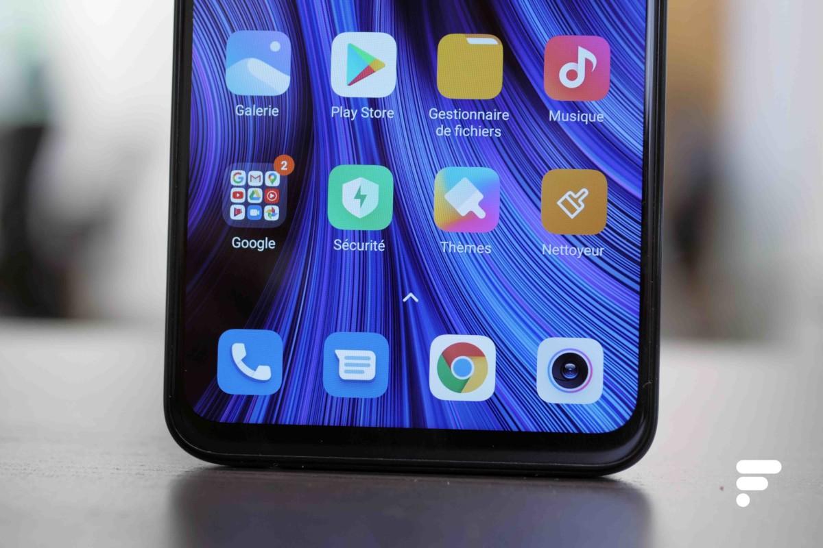 Bas du Xiaomi Redmi Note 9 Pro