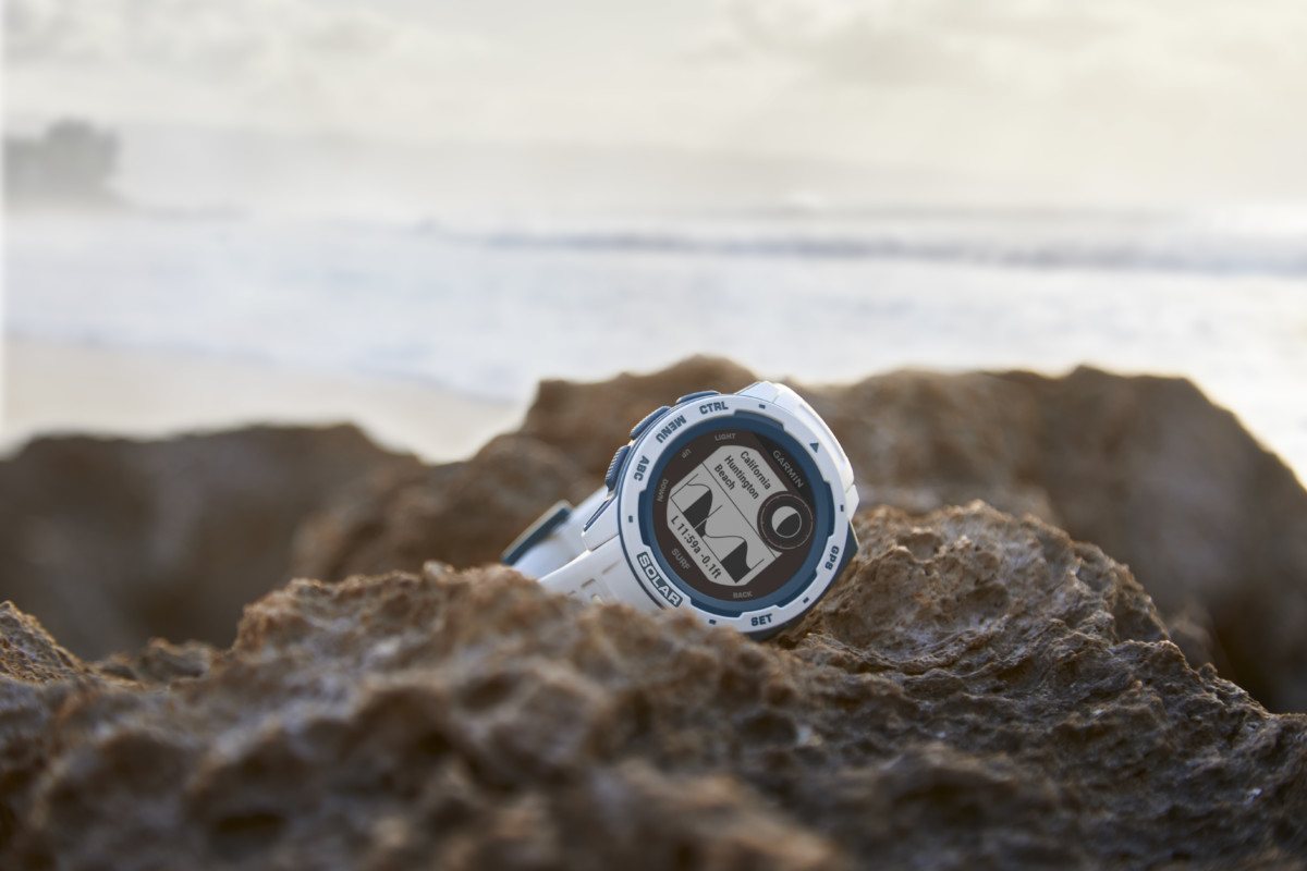 La montre Garmin Instinct Solar Surf Edition