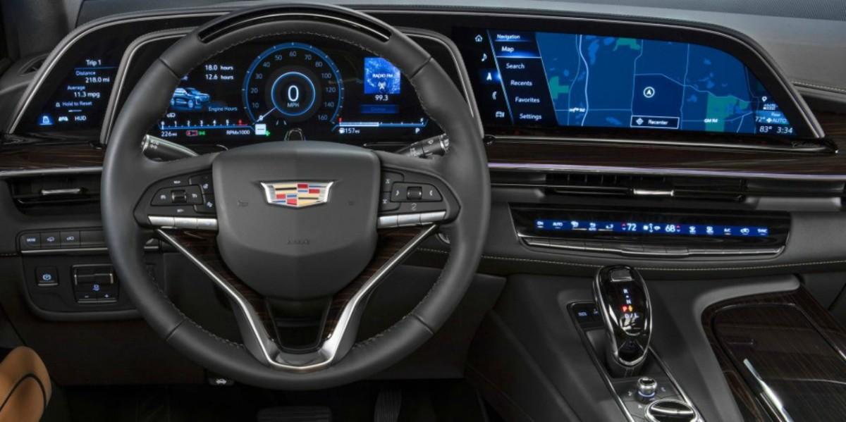 Ecran Cadillac Lyriq
