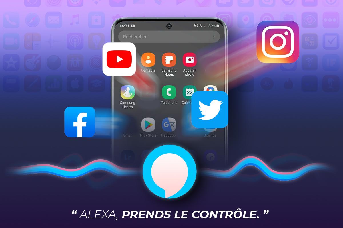 Alexa prend le contrôle de vos applications