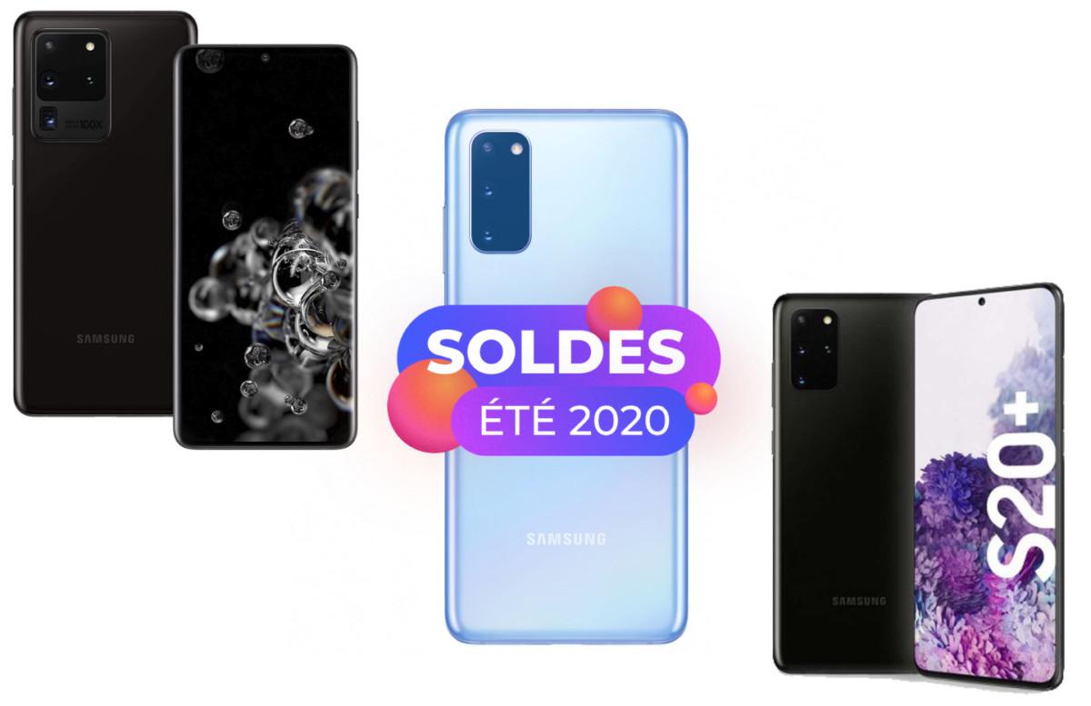 Amazon lance un déstockage pour les Samsung GalaxyS20, S20 Plus et S20 Ultra