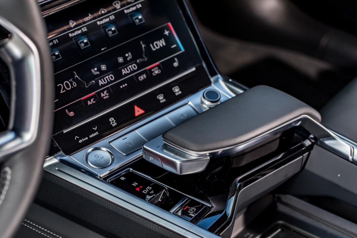 La commande de la boîte de vitesses de l'Audi e-Tron