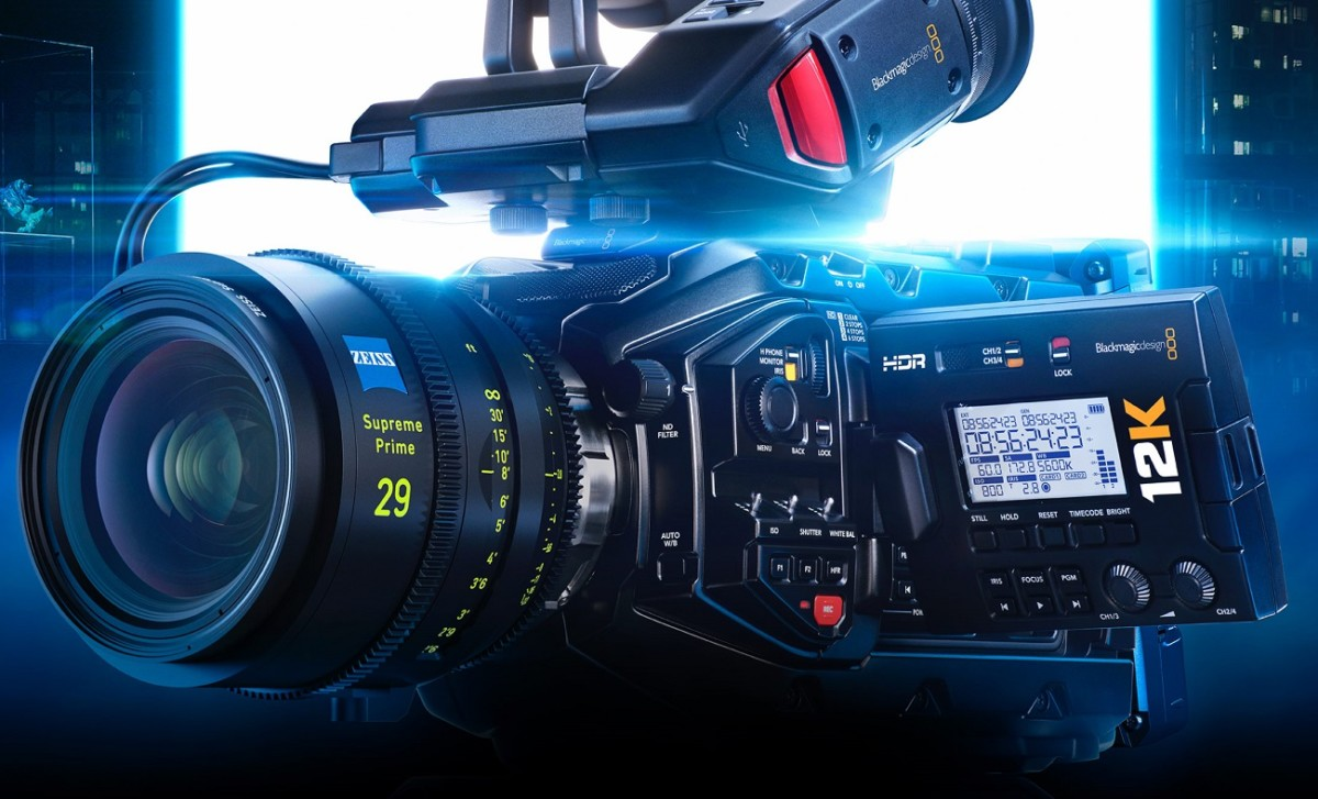 La caméra Ursa Mini Pro 12K de Blackmagic