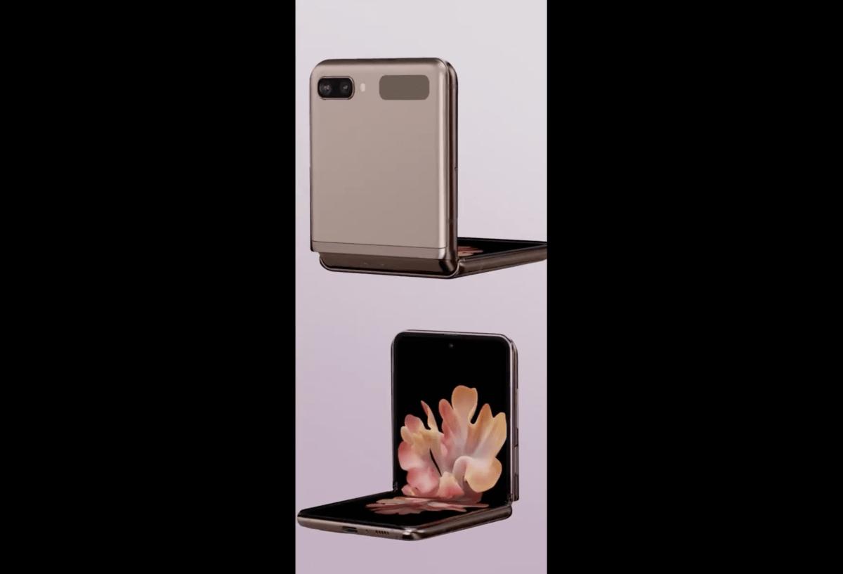 Une vidéo du Galaxy Z Flip 5G de Samsung a fuité