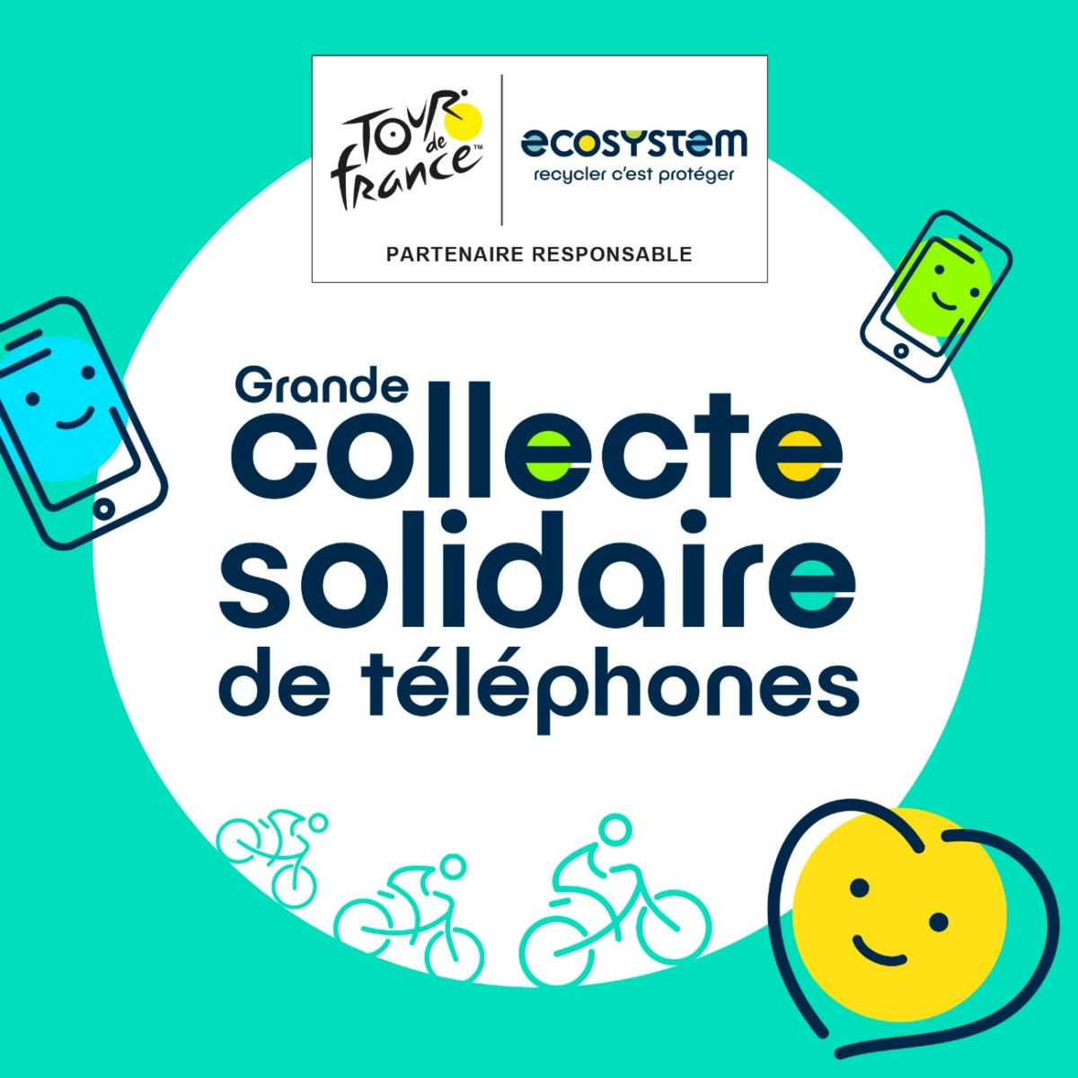 Ecosytem recolte smartphones