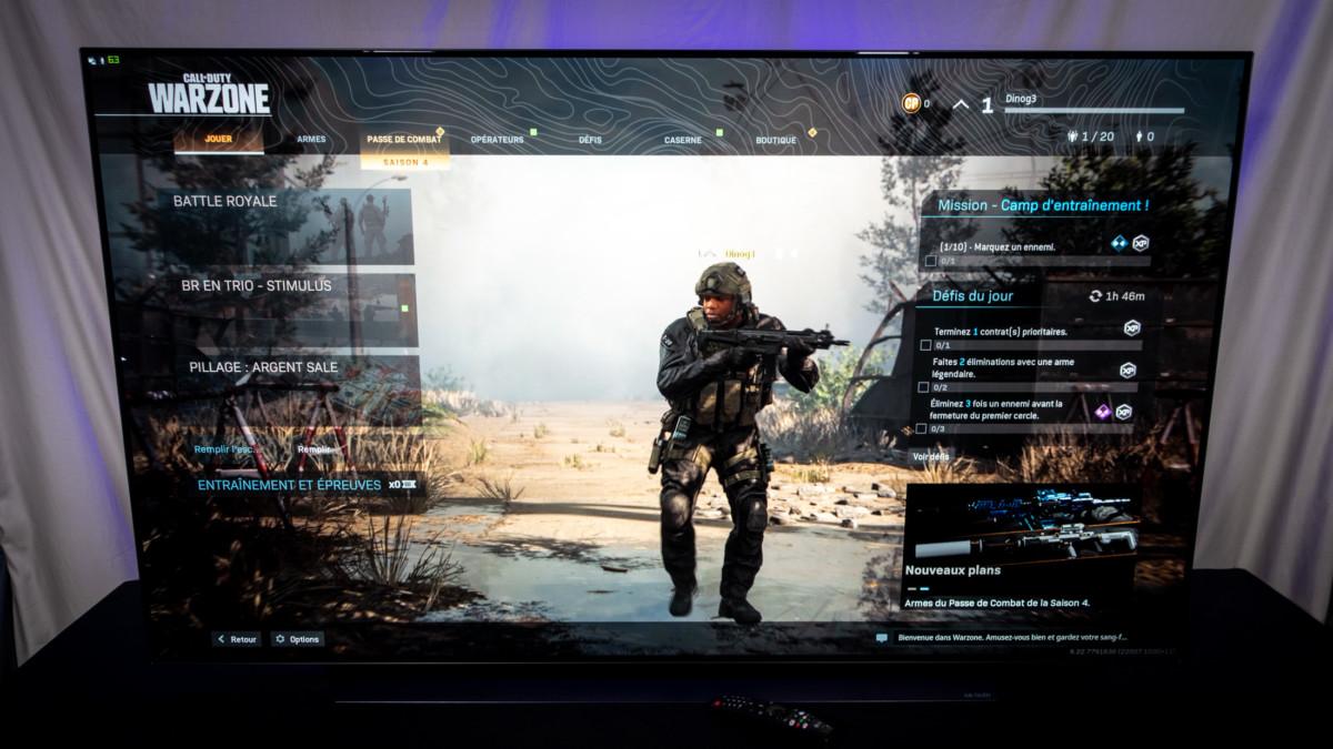 Un téléviseur idéal pour les jeux sur PC