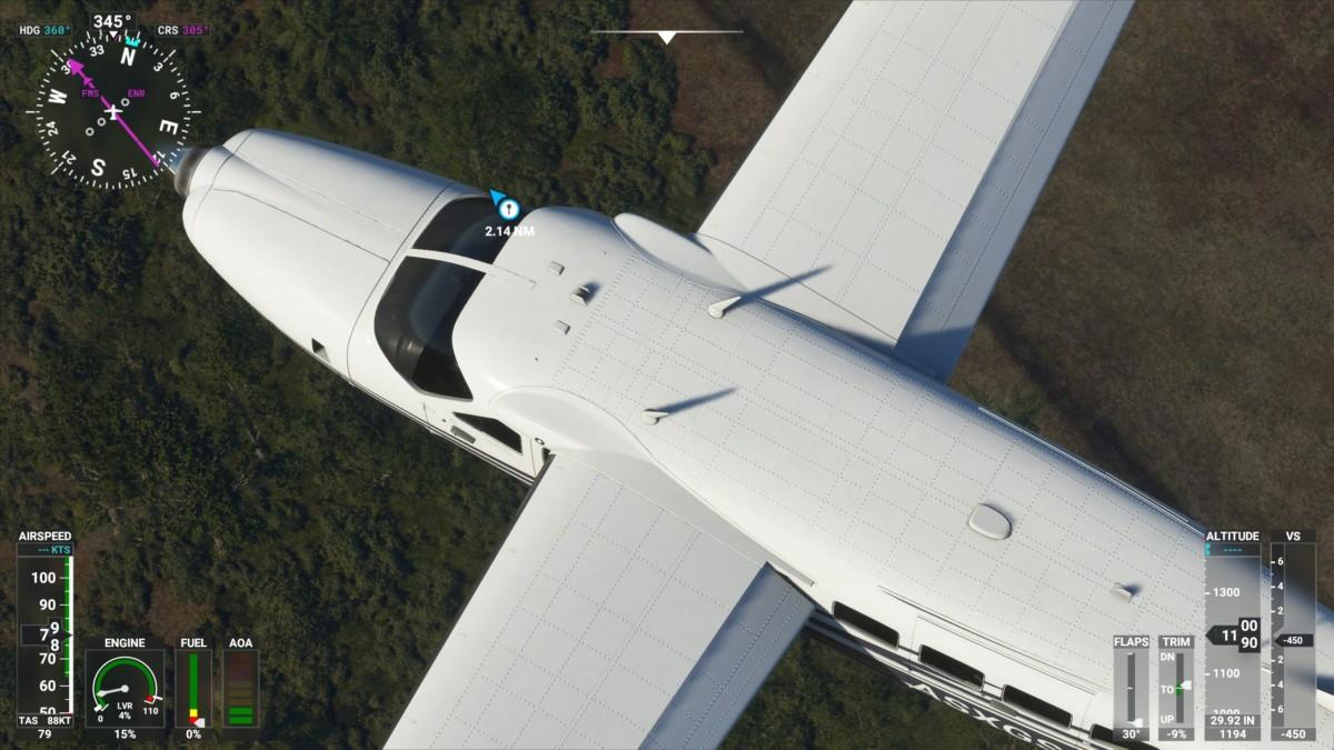 La modélisation des avions est très réussie