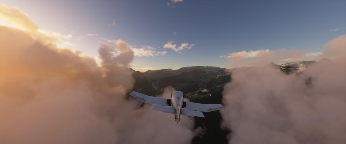 Le jeu Flight Simulator