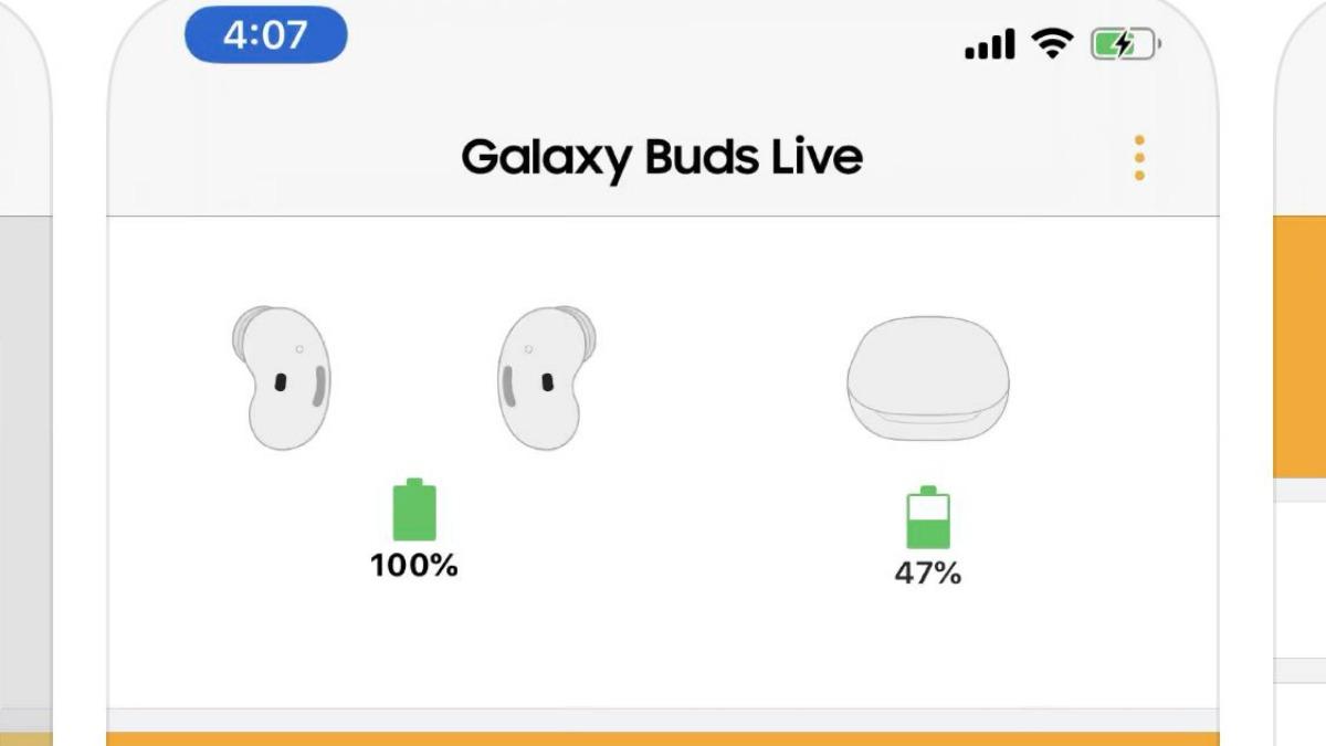 L'appli Galaxy Buds sur l'App Store