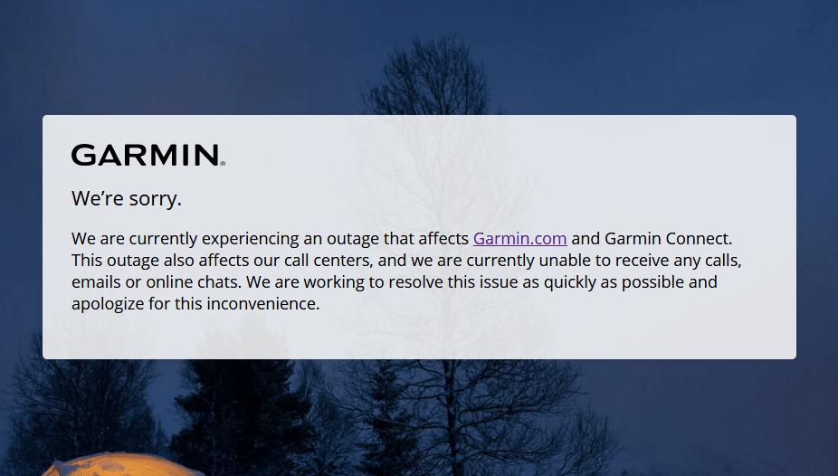 Après une vaste cyberattaque, Garmin assure qu'aucune donnée utilisateur n'a fuité