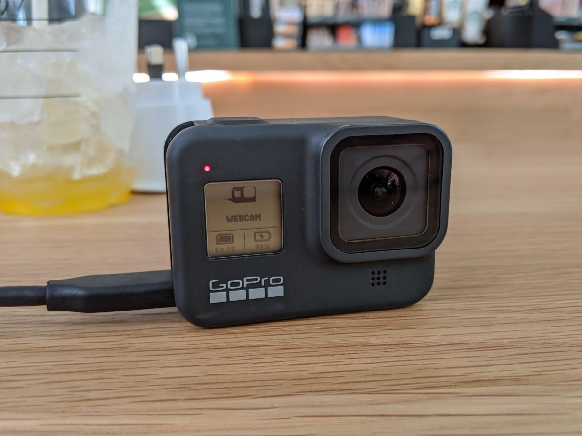 La GoPro Hero8 Black en mode webcam
