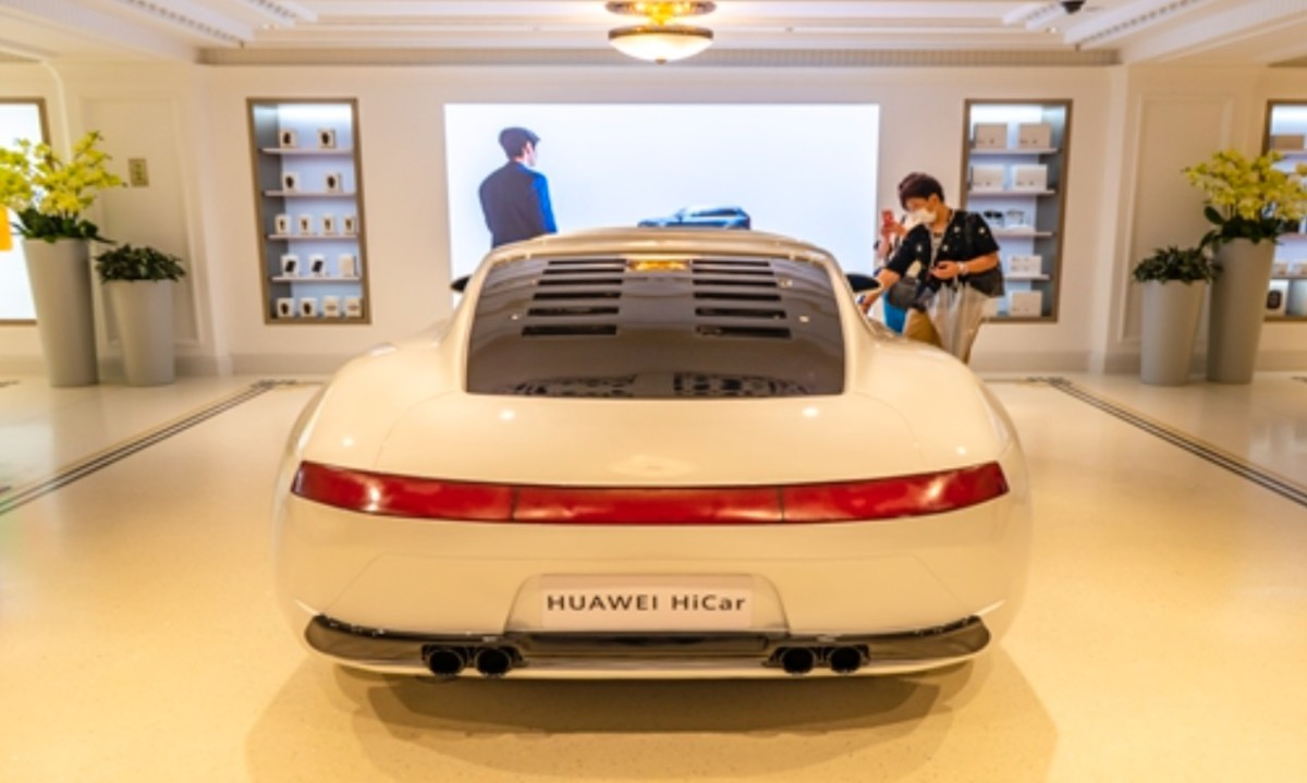 Huawei vient d'équiper un premier véhicule de HiCar, la version embarquée de son HarmonyOS