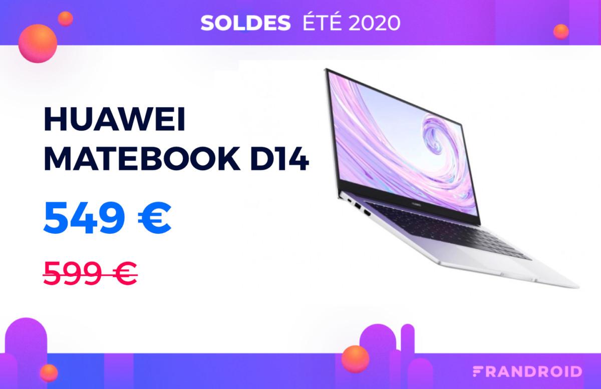 MateBook D14 : le nouveau laptop de Huawei est moins cher sur Cdiscount