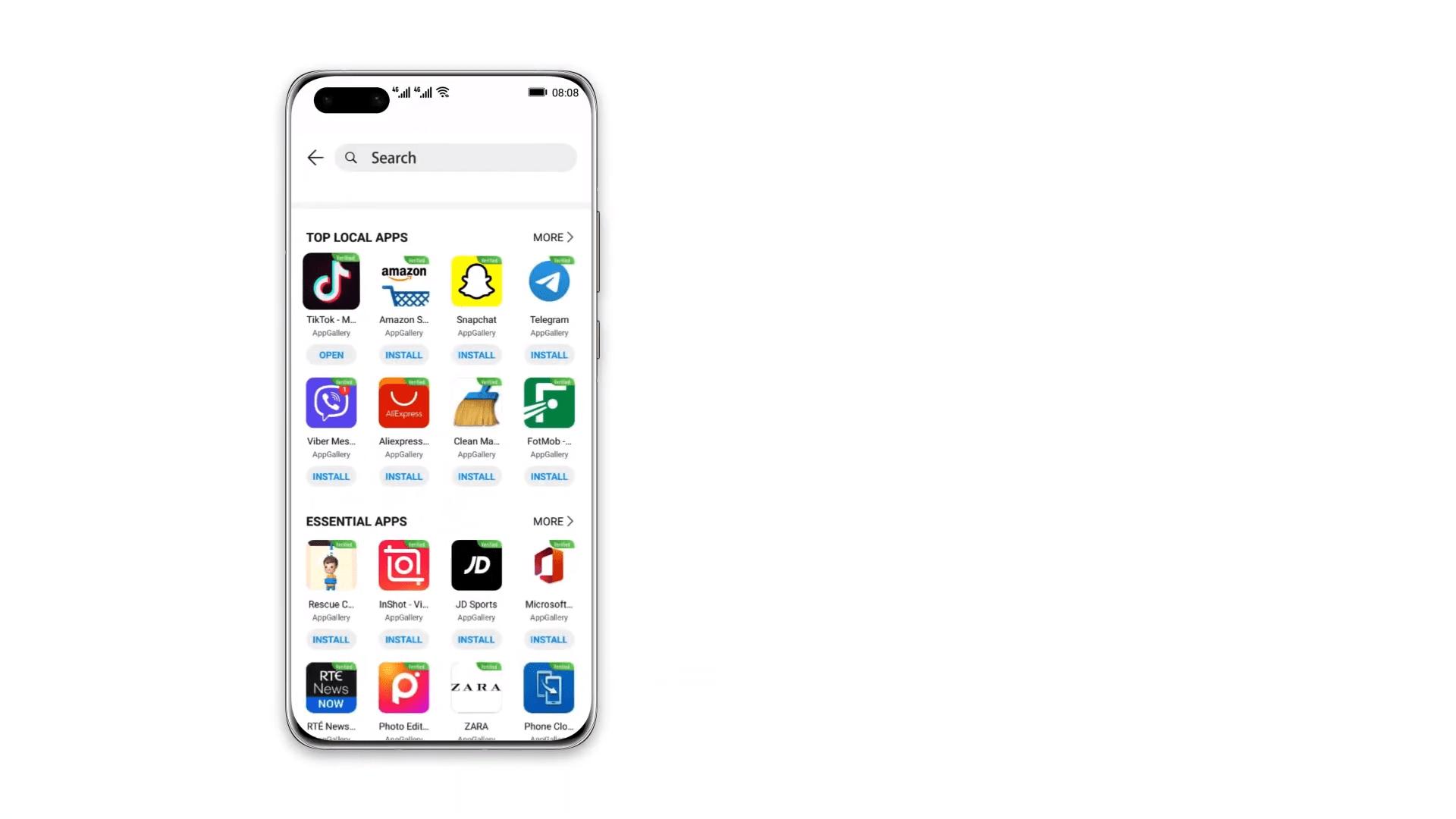 Petal Search Le Moteur De Recherche D Applis De Huawei S Enrichit Et Arrive Aussi Sur Tablette