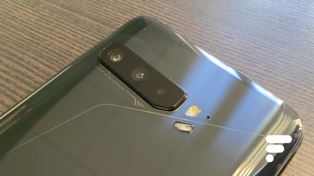 Le ROG Phone3 embarque un triple capteur photo dont un mode macro