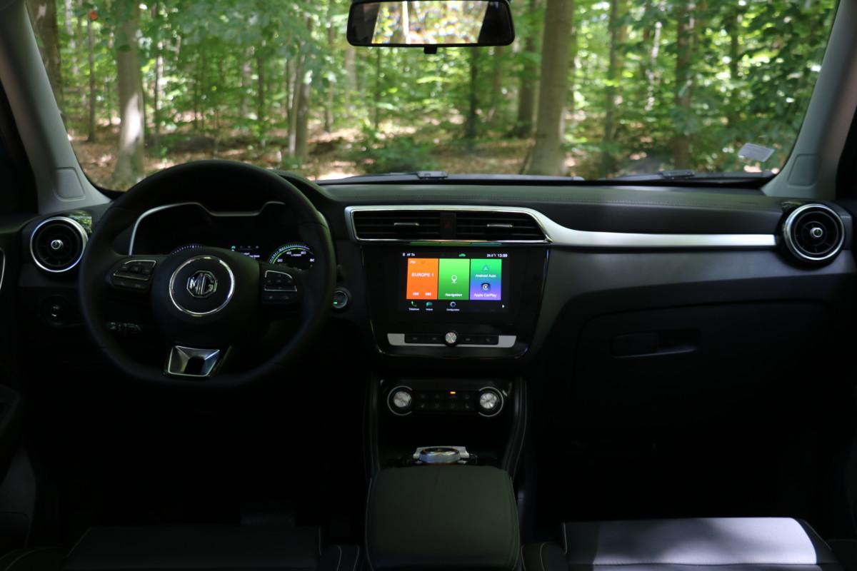 L'intérieur du MG ZS EV