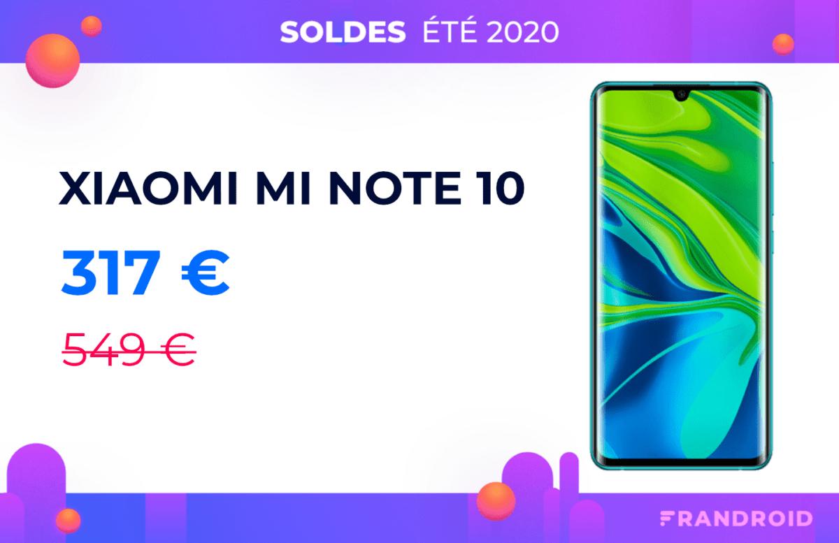 Le rapport qualité/prix du Xiaomi Mi Note10 est imbattable avec cette promotion