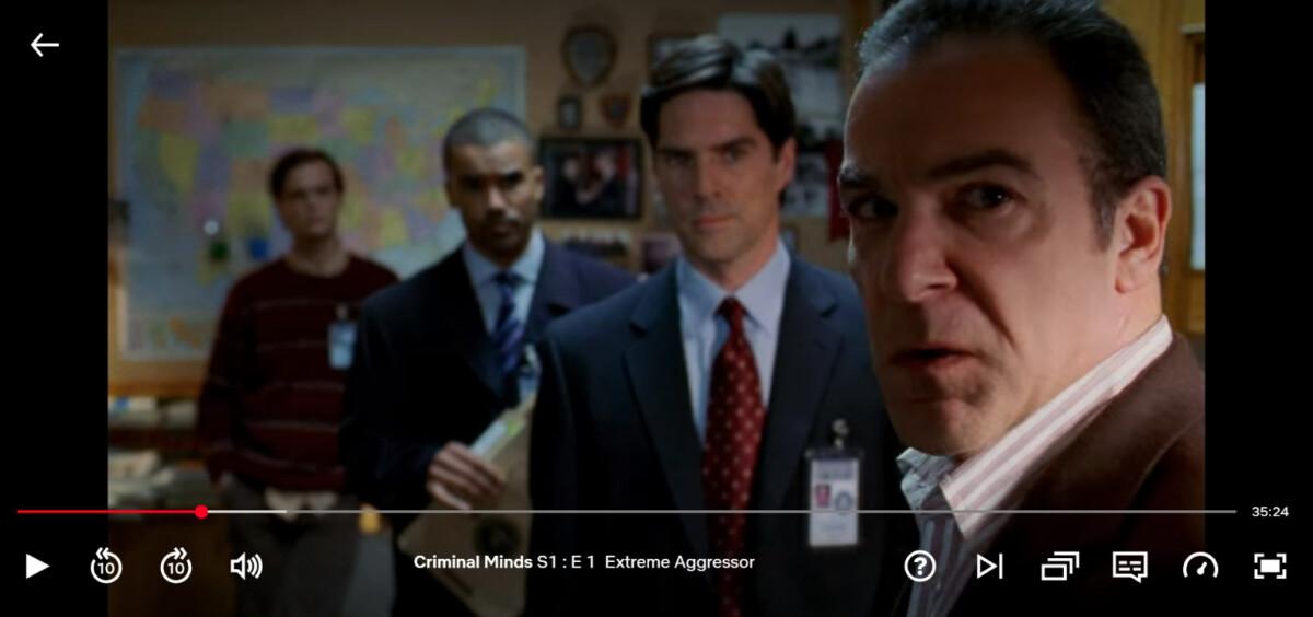 Les séries exclusives Netflix US sont en excellente qualité sur mobile et desktop.