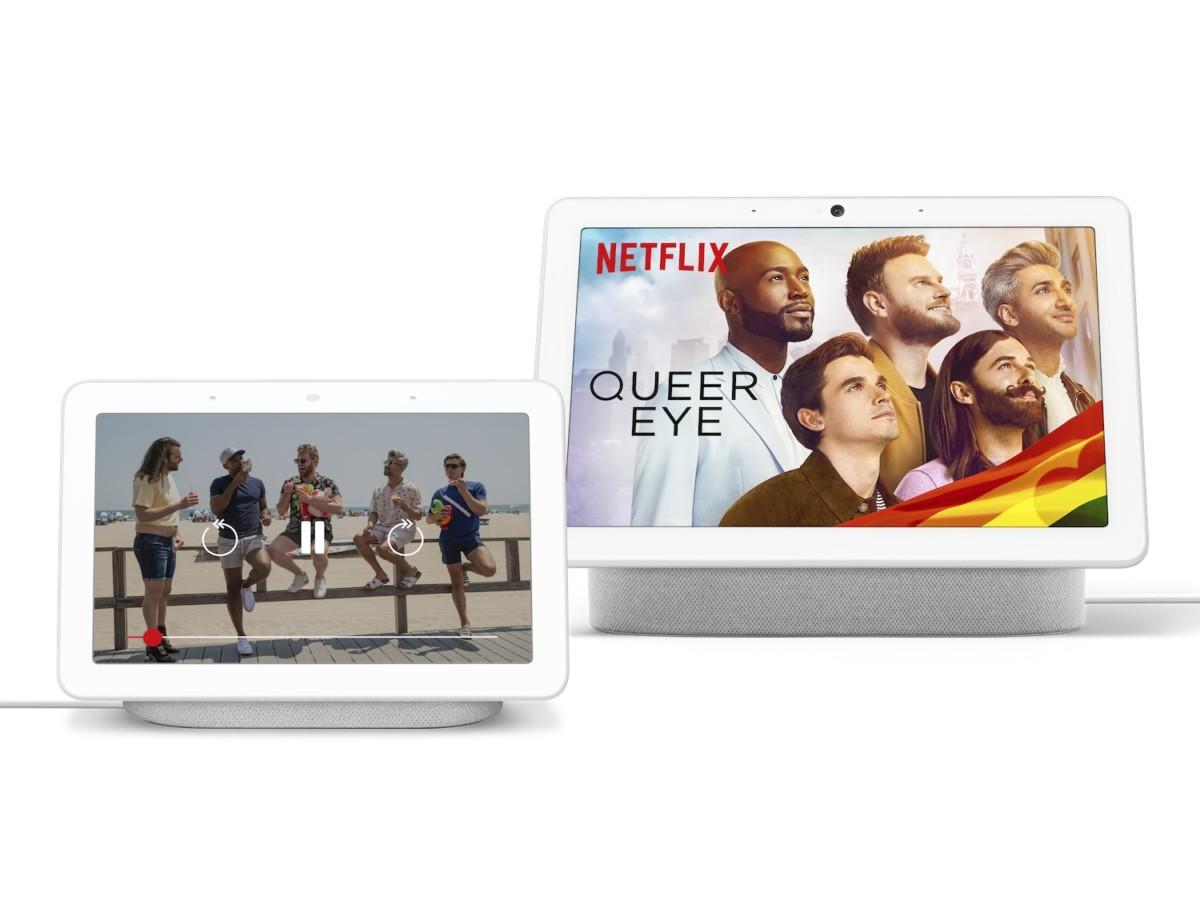 Netflix sur les Google Nest Hub et Nest Hub Max