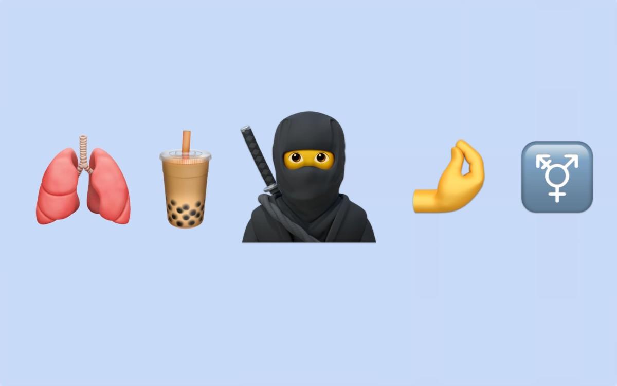Quelques-uns des nouveaux emojis pour iOS