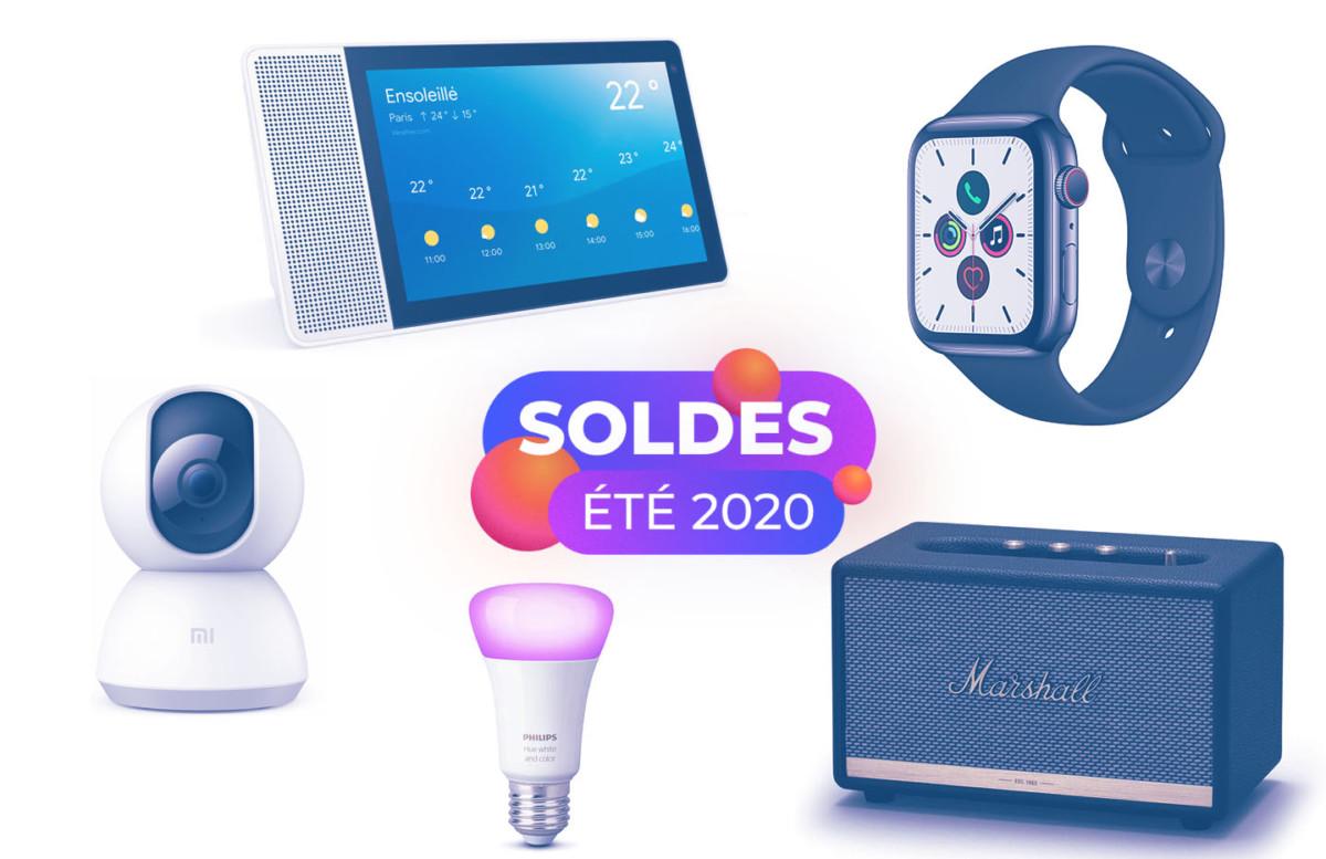 Soldes d'été 2020 : les meilleures offres pour s'équiper avec des objets connectés