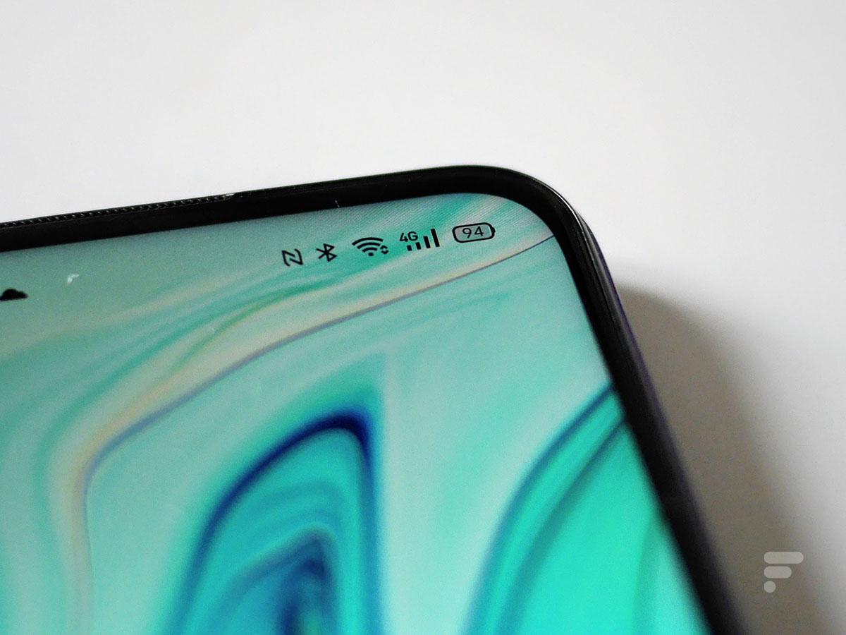 Le Oppo A72 propose une bonne autonomie allant jusqu'à deux jours