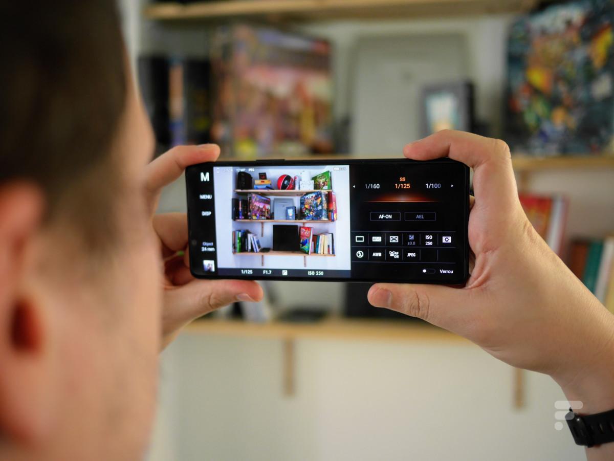 Le mode « Photo Pro » du Sony Xperia 1 II