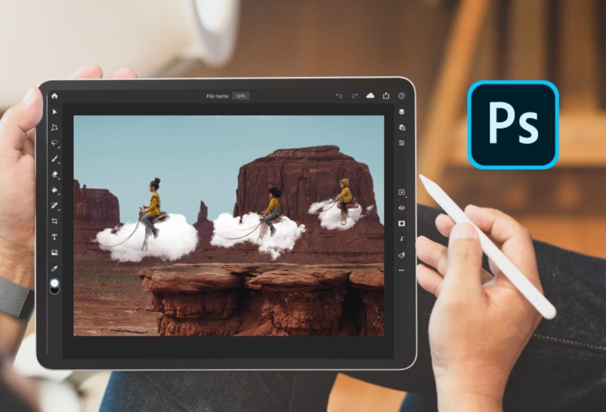 Photoshop sur iPad se fait plus complet en arborant des fonctions de la version de bureau