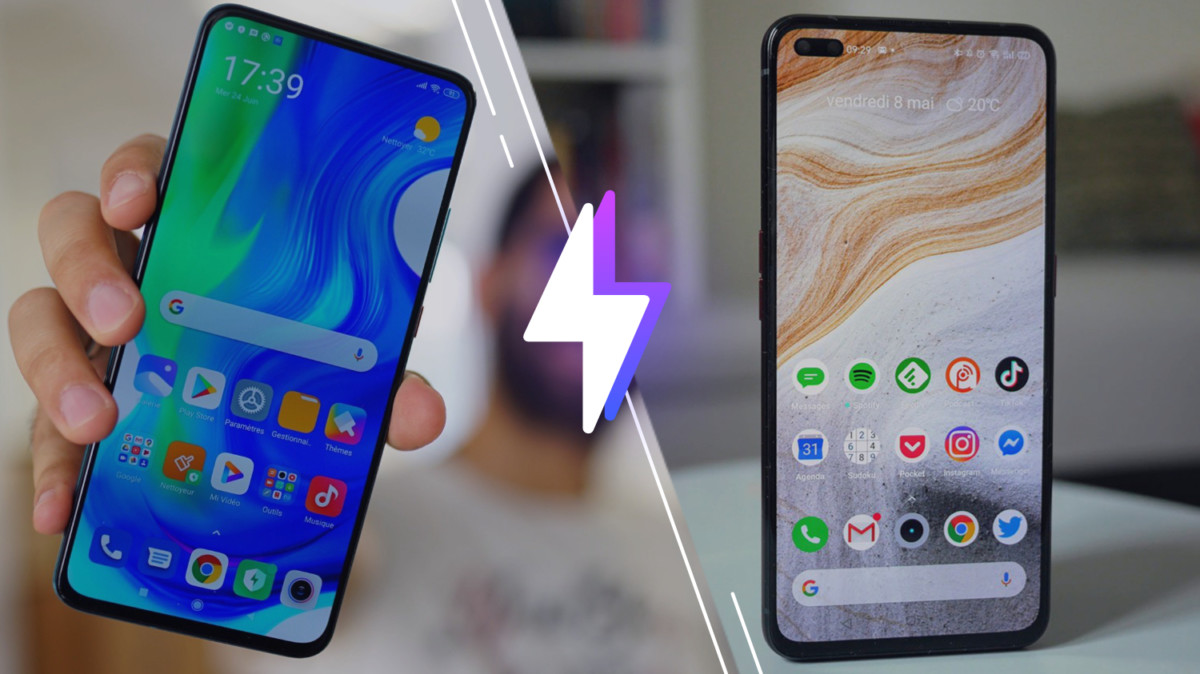 Xiaomi poco F2 Pro vs Realme X50 Pro