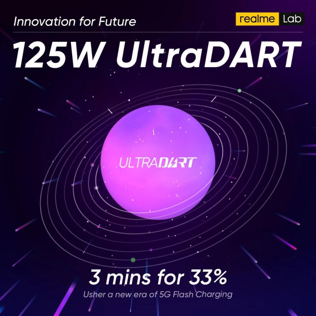 Realme UltraDART 125 W