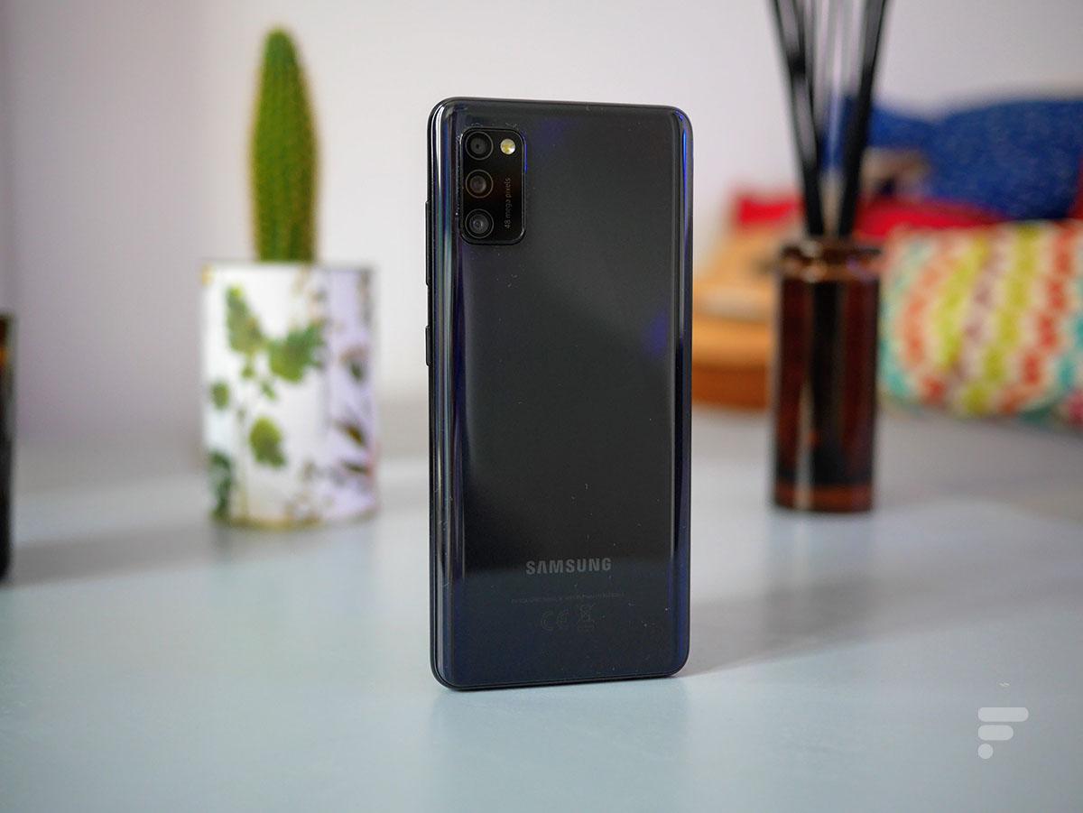 Le dos du Samsung Galaxy A41
