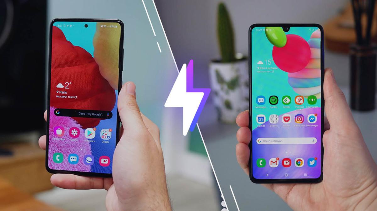 Samsung Galaxy A51 vs Samsung Galaxy A41