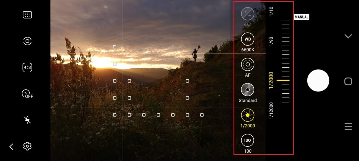 La vitesse d'obturation joue sur la quantité de lumière que le capteur photo reçoit. Il s'agit de fractions de secondes pendant lesquelles la lumière va rentrer dans le capteur.