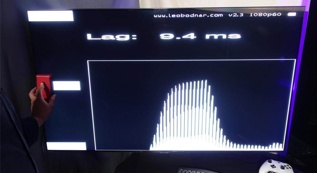La mesure d'input lag en mode jeu