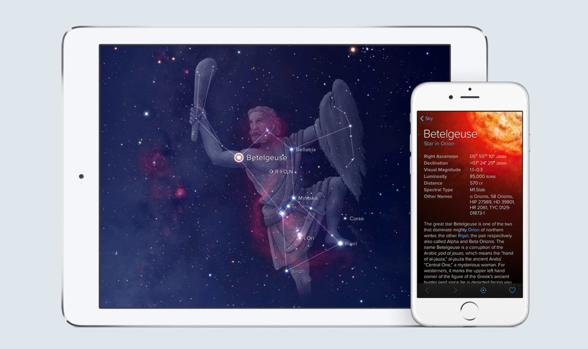 L'application Sky Guide