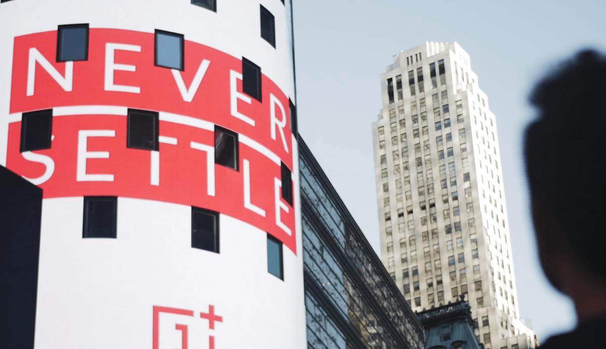 Never Settle, le slogan de OnePlus